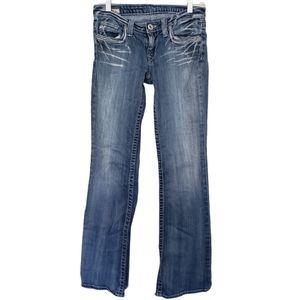 Big Star Casey K Low Rise Bootcut Jeans Sz 27